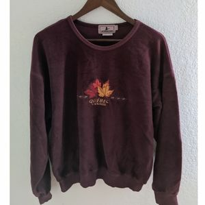 Attraction VINTAGE Quebec Canada Cozy Pullover✨🍁